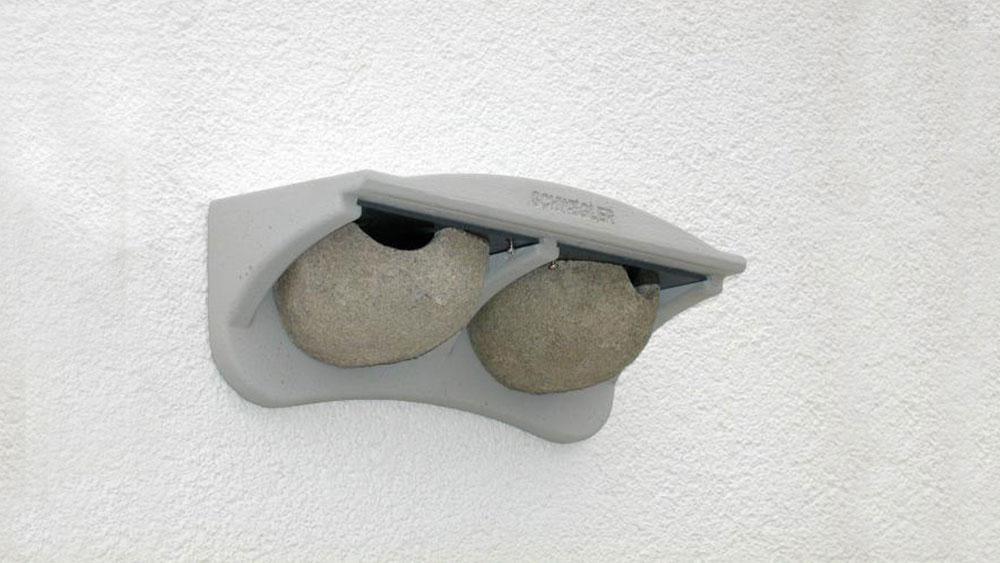 Nidi Artificiali Legno Cemento